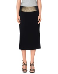 Diane Von Furstenberg Skirts Knee Length Skirts Women Black