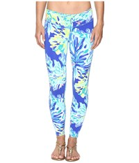 Lilly Pulitzer Weekender Leggings Brilliant Blue Wade And Sea Women's Casual Pants