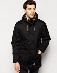 Esprit Field Parka Jacket Black