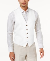 Inc International Concepts Men's Nevin Vest Only At Macy's White