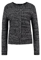 More And More Cardigan Black Off White