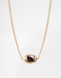 Gogo Philip Vintage Style Necklace Gold