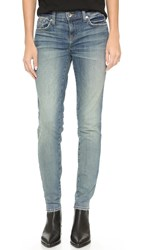 Baldwin Denim The Ten Skinny Jeans Patchwork Indigo