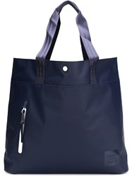 Herschel Supply Co. 'Alexander Tarpaulin' Tote Blue
