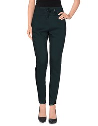 Angelo Marani Trousers Casual Trousers Women Dark Green