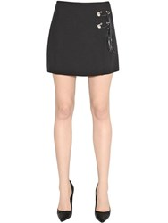 Versus Techno Cady Envers Satin Skirt