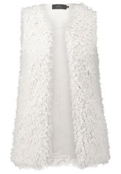 Only Onlanni Waistcoat Cloud Dancer Off White