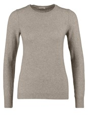 United Colors Of Benetton Slim Fit Jumper Beige Melange