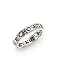 King Baby Studio Sterling Silver Chosen Star Band Ring