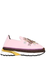 Dolce And Gabbana 20Mm Barcellona Swarovski Sneakers