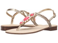 Lilly Pulitzer Sole Seaurchin Sandal Gold Metal Women's Sandals