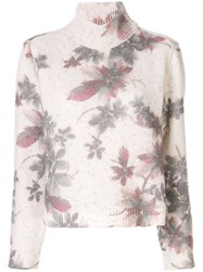 Antonio Marras Floral Knitted Jumper 60