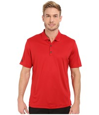 Adidas Performance Polo Power Red Men's Clothing