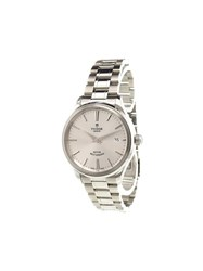 Tudor 'Style' Analog Watch Stainless Steel