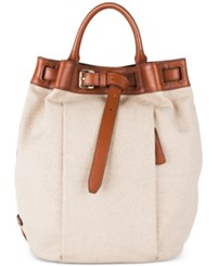 Cole Haan Emery Canvas Backpack Neutral Woodbury