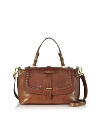 The Bridge Handbags Murakami Leather Medium Satchel Bag