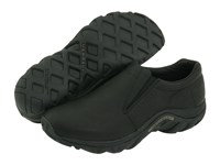 Merrell Jungle Moc Leather Midnight Leather Slip On Shoes Navy