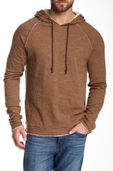Jeremiah Vagabond Cotton Hoodie Brown