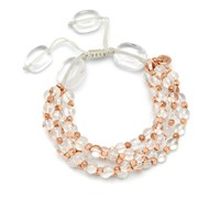 Lola Rose Clio Bracelet Rock Crystal Clear