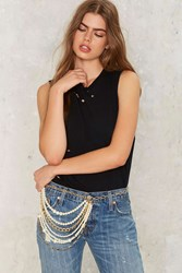 Hip To Be Square Chain Belt 73582
