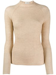 Forte Forte Fitted Jumper Neutrals