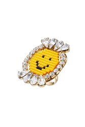 Shourouk Happy Smiley Ring Gr. One Size