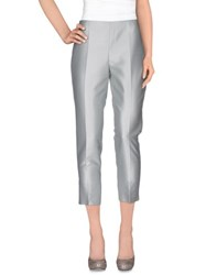 Clips Trousers Casual Trousers Women Light Grey