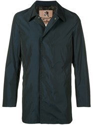 Sealup Zipped Fitted Jacket Blue