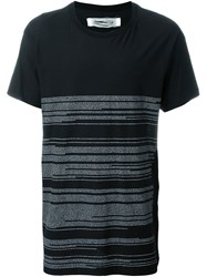 Individual Sentiments Stripe T Shirt Black