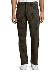 True Religion Dark Patterned Pants Charcoal