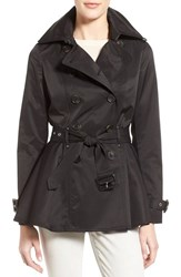 Women's Bcbgeneration Short Double Breasted Skirted Trench Coat