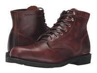 Wolverine Kilometer Brown Leather Men's Work Boots