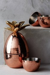 Anthropologie Pineapple Measuring Cups Copper