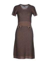 Caramelo Dresses Knee Length Dresses Women Khaki