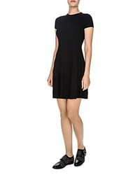 The Kooples Jacquard Knit Dress Black