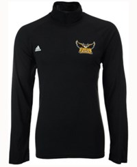 Adidas Men's Kennesaw State Owls Primary Screen Ultimate Quarter Zip Pullover Black