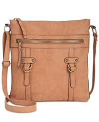 Styleandco. Style Co. Freestyle Crossbody Only At Macy's Cognac