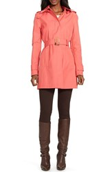 Women's Lauren Ralph Lauren Hooded Raincoat