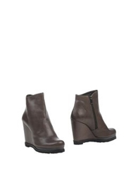 Audley Ankle Boots Dark Brown