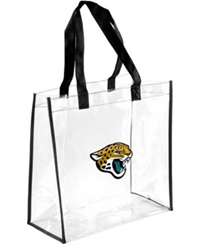 Forever Collectibles Jacksonville Jaguars Clear Tote Bag