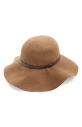 Amici Accessories Amici Floppy Wool Hat Camel
