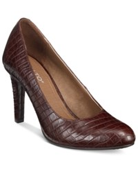 Rialto Charlee Pumps Women's Shoes Dark Brown