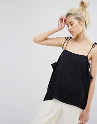 Weekday Strap Cami Top Black