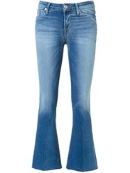 Hudson 'Carve' Cropped Jeans Blue