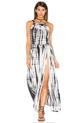 Stillwater Gypsy Dress Black And White