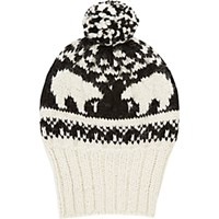 Eugenia Kim Women's Polar Bear Beanie Black Blue Black Blue