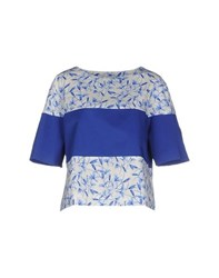 Philosophy Di Alberta Ferretti Shirts Blouses Women Blue