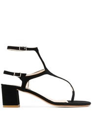 Fabio Rusconi Thong Strap Sandals Black
