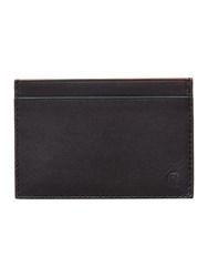 Paul Smith London Leather Highlight Internal Card Holder Black