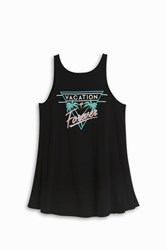 Wildfox Couture Vacation Forever Tank Black